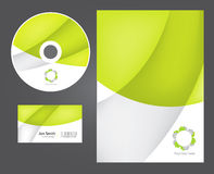 Business style templates. Royalty Free Stock Images