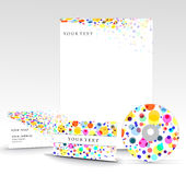 Business style templates Royalty Free Stock Image