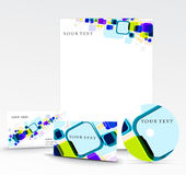Business style templates Royalty Free Stock Photo