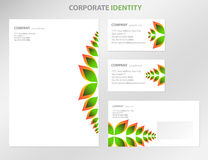Business style templates royalty free stock images