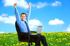 Business success Royalty Free Stock Photography