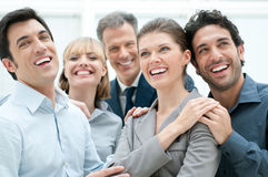 Business success and celebration Stock Image