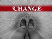 Business Success with Change Zoomed Royalty Free Stock Photography