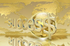 Business and success concept Stock Photos