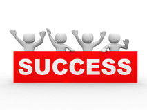 Business success concept Royalty Free Stock Images