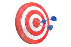 Business Success Concept, 3D rendering. Success Target, business concept 3D rendering Royalty Free Stock Photography