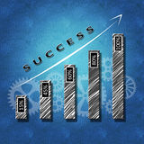 Business success concept: decision making Royalty Free Stock Photography