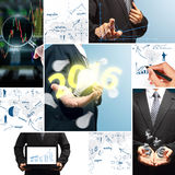 Business success concept new year 2016 Stock Images