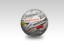 Business success 3d Royalty Free Stock Photos
