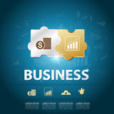 Business Success - Elements Vector Royalty Free Stock Photos