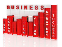 Business Success Graph Stock Images