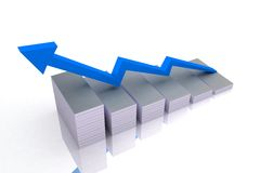 Business success and growth Stock Images