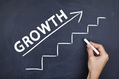 Business success and growth Stock Photo