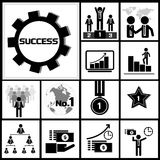 Business Success Icon Royalty Free Stock Image