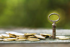 Business success key stock images