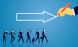 Business Success Moving Forward Direction Concept Stock Images