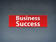 Business Success Red Banner Abstract Background stock illustration