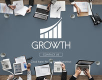 Business Success Report Graph Concept Royalty Free Stock Images