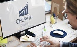 Business Success Report Graph Concept Stock Images