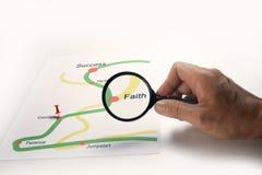 Business success road map Stock Photos