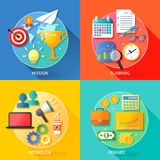 Business success steps stock illustration