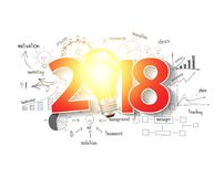 2018 business success strategy plan ideas Stock Photo