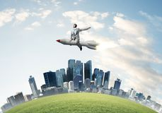 Business success and targets achievement concept. stock photos