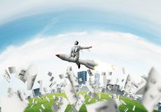 Business success and targets achievement concept. stock photography