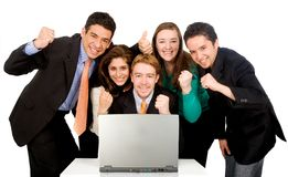 Business success team Royalty Free Stock Photo