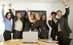 Business success team Royalty Free Stock Image