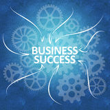 Business success and team work Stock Image
