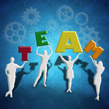 Business success and teamwork Royalty Free Stock Photos