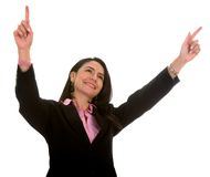 Business Success - woman Stock Image