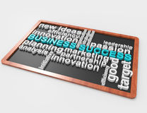 Business Success word concept Royalty Free Stock Photo