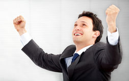 Business successful man Royalty Free Stock Photography