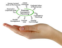 Business Succession Planning. Presenting diagram of Business Succession Planning Stock Photos
