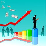 Business sucsess Royalty Free Stock Photo