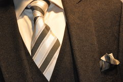 Business suit. With shirt and tie Royalty Free Stock Photo