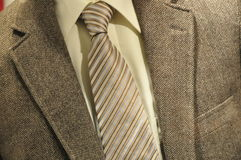 Business suit. With shirt and tie Royalty Free Stock Images
