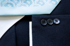 Business suit buttons Stock Photo