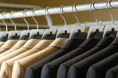 Business suit on the hanger Stock Image