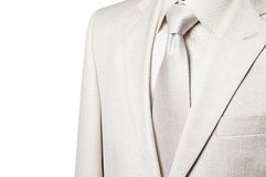 Business suit isolated Stock Photography