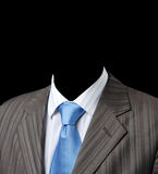 Business suit jacket, shirt and tie Royalty Free Stock Photos