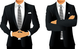 Business suit for men Royalty Free Stock Photography
