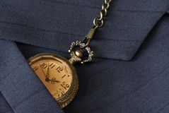 Business Suit and Pocket Watch Stock Image