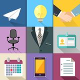Business suit set Stock Photography