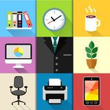 Business suit set Royalty Free Stock Images