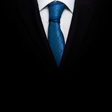 Business suit with a tie Stock Images
