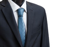 business suit with a tie Royalty Free Stock Photography