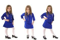Business suit triplets. Shot of Business suit triplets Stock Image